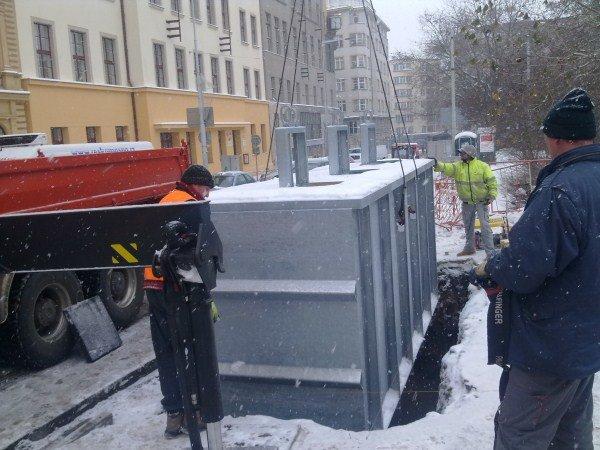 Podzemní kontejnery Praha 2