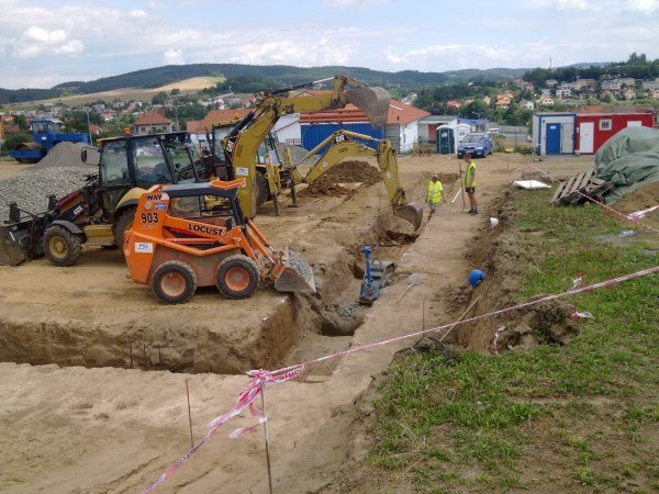Kanalizace, vodovod a komunikace KIK Sedlčany