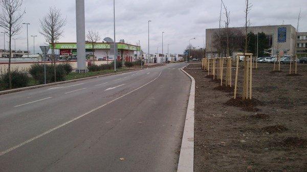 Komunikace Zelené město Jarov