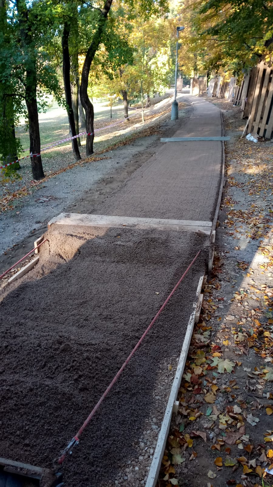 Rekonstrukce hlavní běžecké dráhy Stromovka